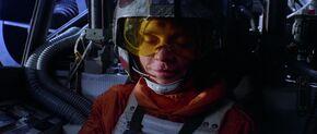 Luke Flying to Dagobah