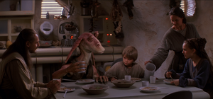 Dinner at the Skywalker home