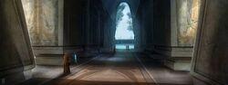 Jedi Temple Tython concept art