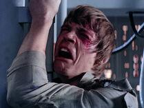 Luke whining