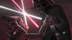 Master versus the apprentice