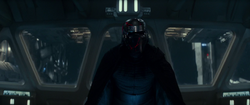 Kylo on the Destroyer