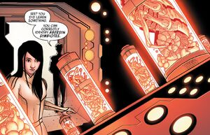 Toob Nix reveals to Aphra abersyn symbiotes