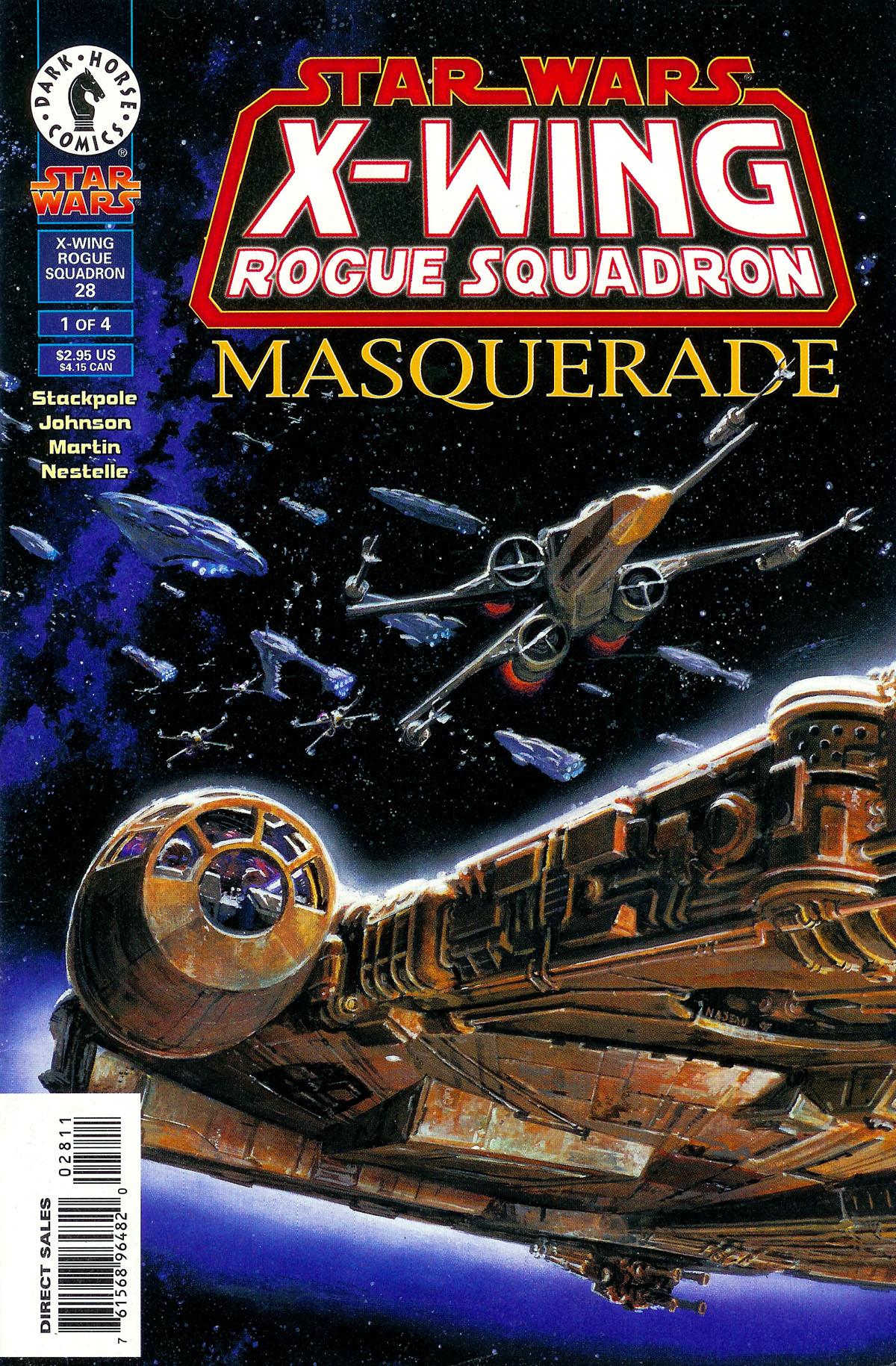 Star Wars: X-Wing Rogue Squadron: Masquerade   Wookieepedia