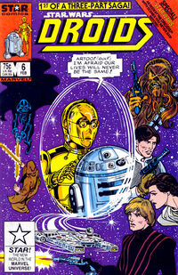 Droids 6 - Star Wars According to the Droids Book I