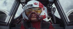 Nien Nunb als X-wing piloot