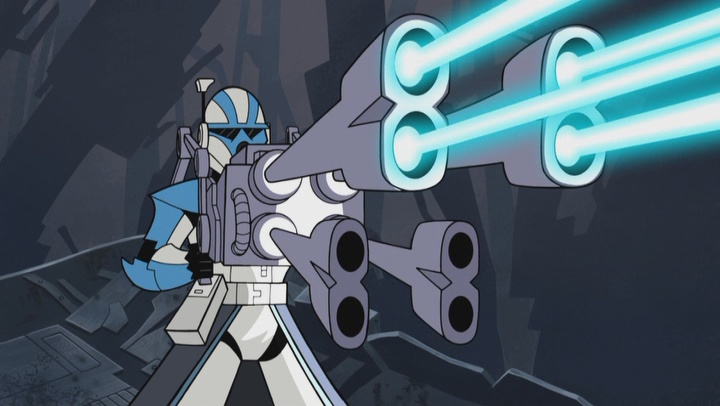 Reciprocating quad blaster | Wookieepedia | Fandom