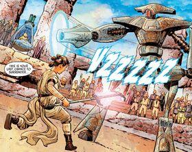 Rey vs Arkay-Nine
