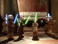 Training lightsabers ST