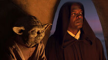 Yoda and Mace Windu
