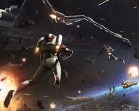 Rocket clones attacking