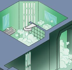 Finalizer shower