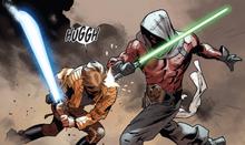 Luke Skywalker vs the gamemaster