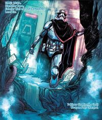 Phasma escapes from garbage compactor