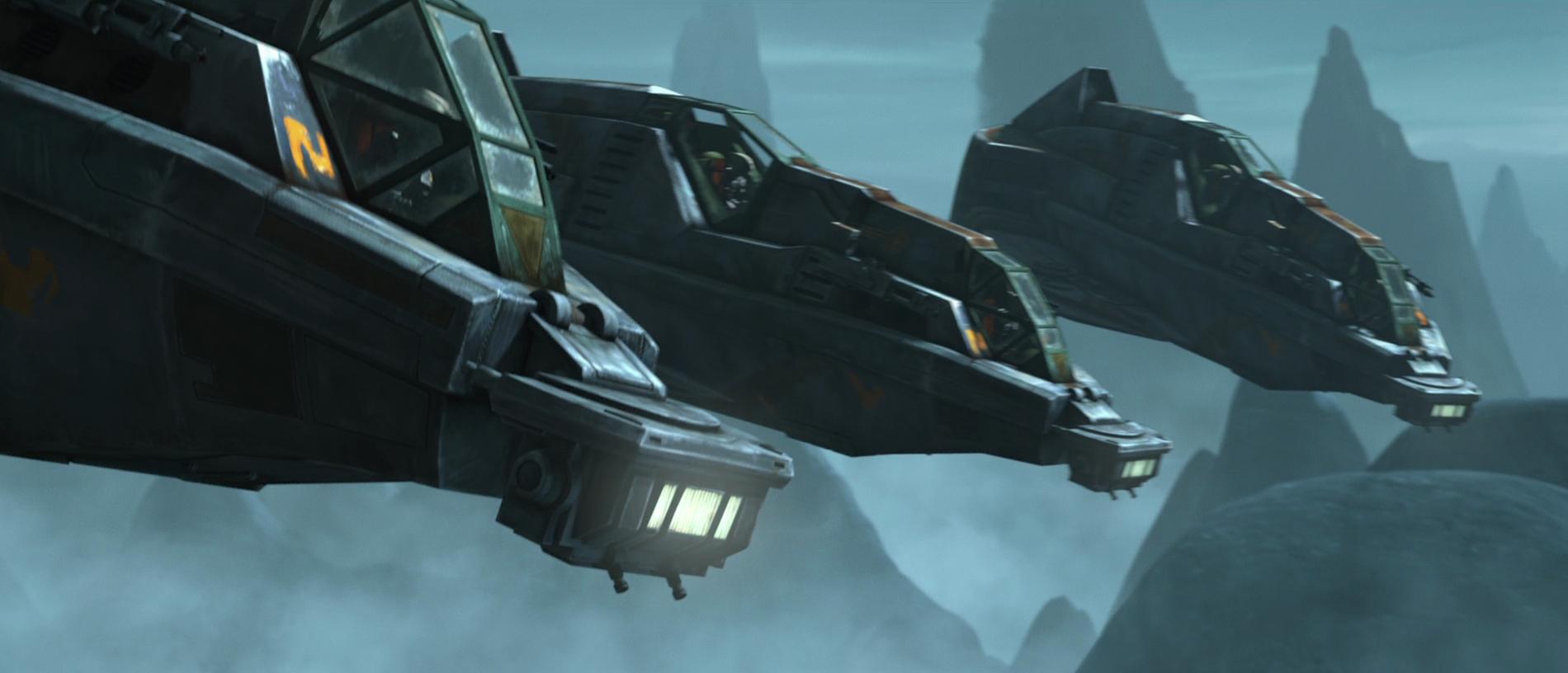 Pyke Syndicate Patrol Ships