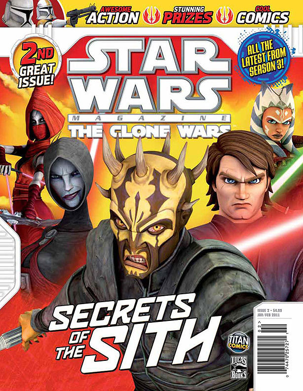 star wars the clone wars magazine 2 wookieepedia fandom powered by wikia. Black Bedroom Furniture Sets. Home Design Ideas