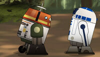 Chopper and Artoo