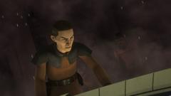 Commander Sato orders evacuation