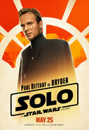 Solo A Star Wars Story Dryden Vos character poster