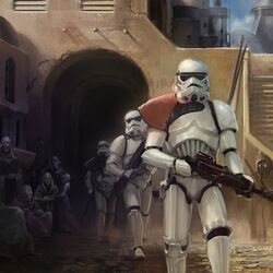 TCG Garrison at Tatooine by Chase Toole