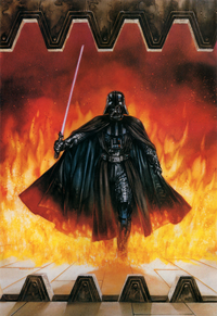 Dynamic Forces Darth Vader Print