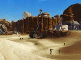 Twin Suns mining compound