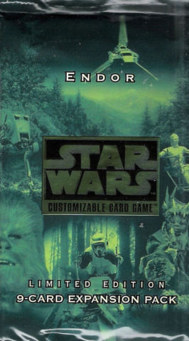 Star Wars CCG Endor Chewbacca/'s Bowcaster