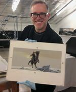 Diterlizzi with McQuarrie Artwork