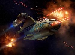 Wookiee Liberator Auzituck Gunship XWM