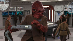 Ackbar on the Raddus