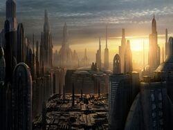 GalacticCity sunset