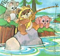 Ewoks fishing