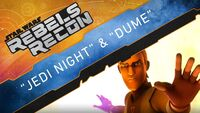 RR - Jedi Night & DUME