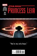 Star Wars Princess Leia Vol 1 1 John Cassaday Teaser Variant