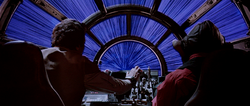 Hyperspace exit