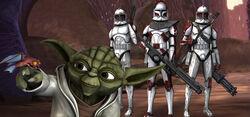 Yoda op Rugosa