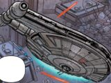 Unidentified YT-2400 light freighter (Clan Markona)
