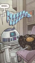 Unidentified RA-7 protocol droid Sundered Heart 2