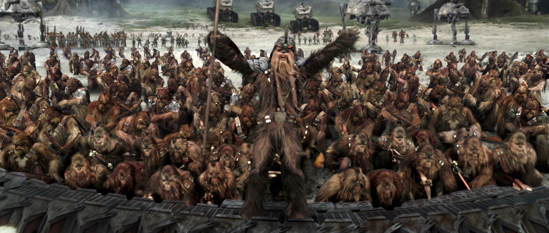 Image result for Wookie warrior Revenge of the Sith wookie battle