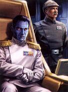 Admiral Thrawn and Captain Pellaeon