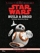 Build a Droid stickers book Journey to TLJ