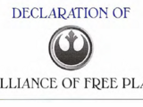 Declaration of the Alliance of Free Planets