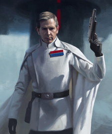 Director Orson Krennic Commander Exp art