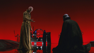 Episode VIII Snoke and Kylo Ren