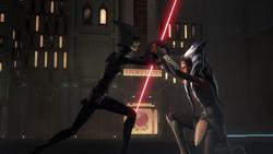 Ahsoka vs the Seventh Sister
