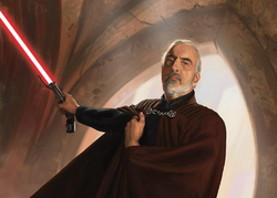 Count Dooku Darth Tyranus WotF
