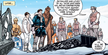 Funeral of Luke Skywalker Infinities