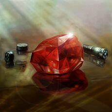 Red Color Crystal