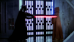 Vader strikes Kenobi