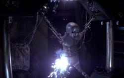 Droid torture rack